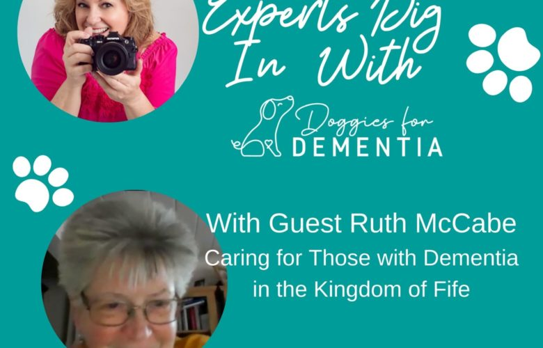 Experts Dig in with Doggies for Dementia and Guest Ruth McCabe